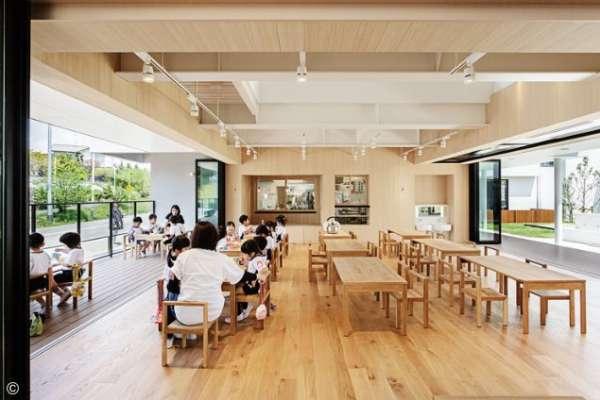日本小孩太幸福,連幼稚園都超有設計感!這3家亮眼空間,就是最棒的美學教育啊!