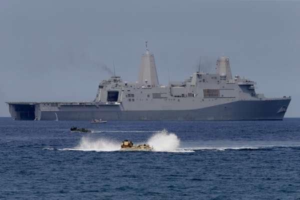 選後首度現蹤台海!美軍作戰艦動向 國防部全程掌握