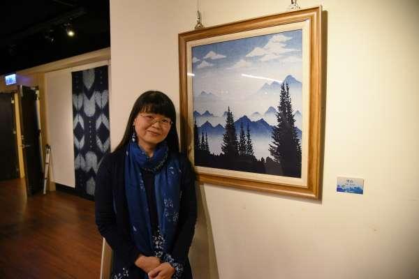 「湛藍的想像」創作聯展 即日起南投米堤展出
