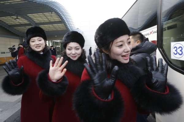 平昌冬奧》睽違12年!北韓「美女啦啦隊」抵韓,團員個個高挑超吸睛
