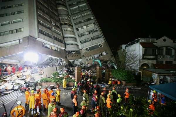 低溫、大雨、餘震…雲翠大樓52人失聯 深夜救援不間斷