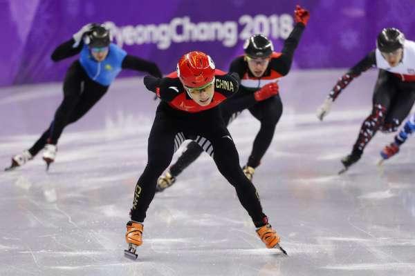 平昌冬奧》500公尺競速滑冰 武大靖破世界紀錄奪金