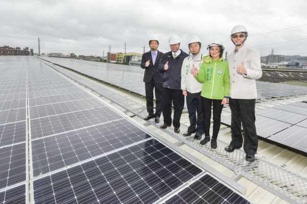 大統建置屋頂太陽能電廠 年產158萬度電