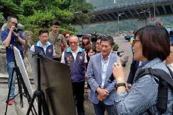 客委會李主委訪苗 視察「浪漫臺三線」進度