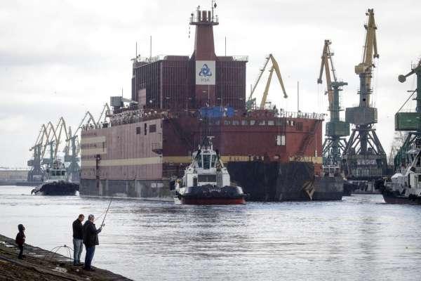 冰上車諾比》安全無虞?極具風險?耗資140億的俄羅斯海上核電廠「羅蒙諾索夫院士號」北極啟航