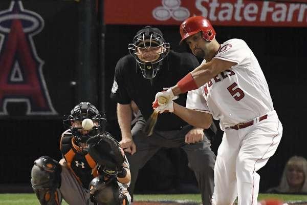 MLB》天使首局轟5分擊落金鶯 普荷斯聽牌3000安