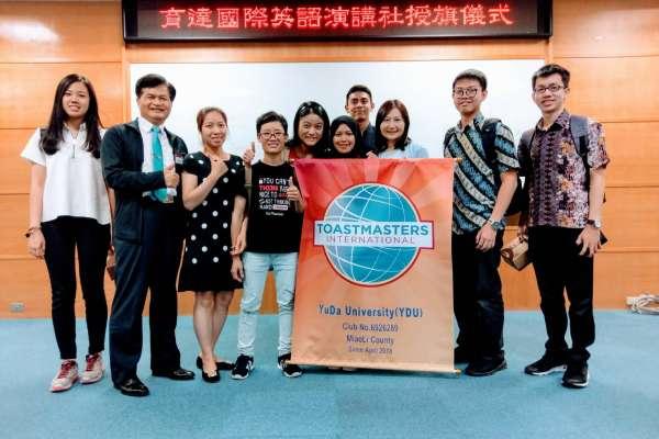 苗栗第一個國際校園社團成立!促成多國籍學生交流平台