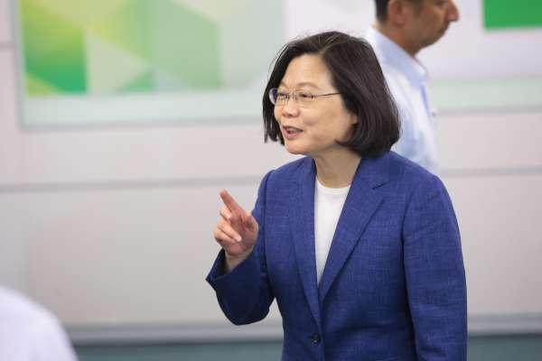 夏珍專欄:當民主變成幫派政治,蔡英文能誇示中國的只剩這一樣