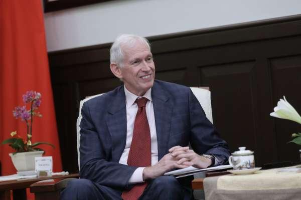 郭台銘表態參選後,AIT主席莫健強調:不論台灣誰執政,美國都會跟台灣持續合作