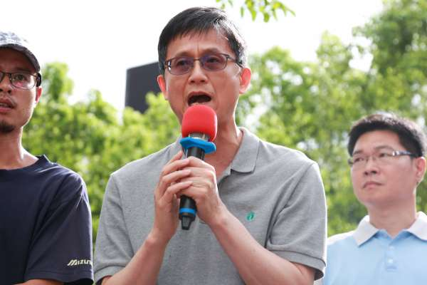 上百大貨車環保署前抗議《空污法》詹順貴:提出配套措施後才會加嚴排放標準