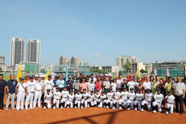台日交流!學生夏季棒球聯盟台南熱力開打