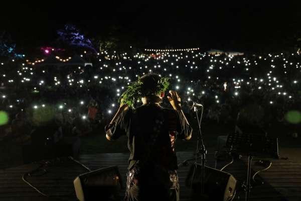 全國唯一月光海音樂會 逾萬人共享盛宴