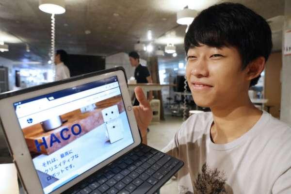 不滿學校填鴨教育,日18歲少年創辦「Yoki機器人公司」找到一片天!
