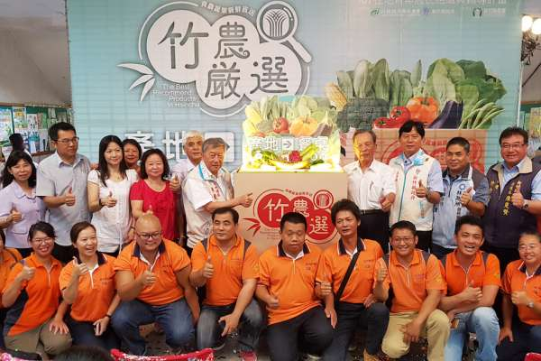 瞄準中秋烤肉商機 新竹縣農會推出千箱蔬菜箱禮盒