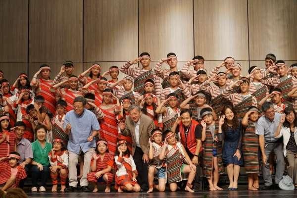 原民美聲響徹竹縣演藝廳 「泰雅天籟」永續傳唱餘音繞樑