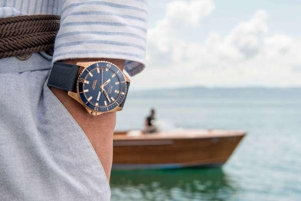 Mido美度表全新Ocean Star海洋之星 質感時尚外型搭配潛水腕錶的實用功能,靈活轉換於正式及休閒場合