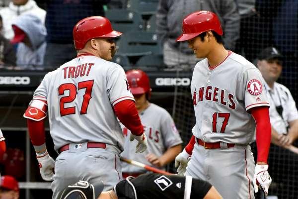 MLB》天使大谷清壘三壘安 外加楚奧特5安兩轟虐白襪