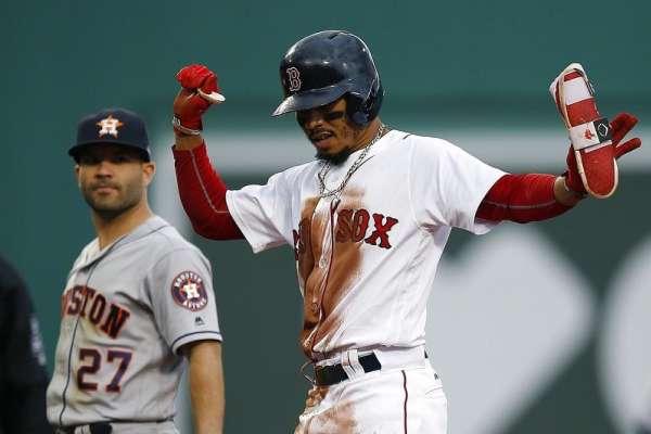MLB》紅襪貝茲連4季40+ 二壘安打王當之無愧
