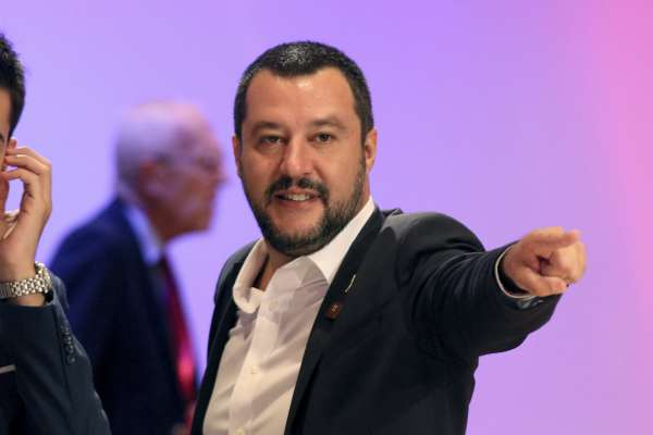 閻紀宇專欄:「小墨索里尼」現身 義大利內政部長成為歐洲最可怕的人物