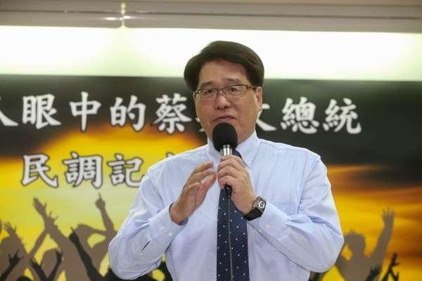 台灣民意基金會民調》蔡英文聲望創新低 游盈隆:民進黨4個歷史新低恐傷選情