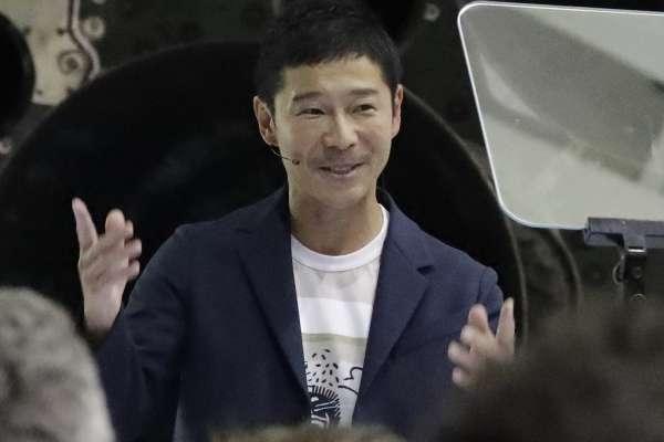 SpaceX首位太空觀光客揭曉!日本富商前澤友作最快5年內繞行月球:我將帶藝術家同遊!