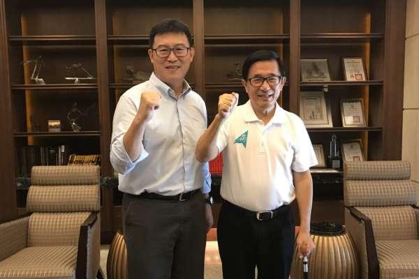 台北市長選舉》允諾擔任選舉及市政顧問 陳水扁:「第一次」獻給姚文智