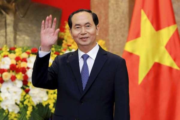 登上大位的剽悍警察頭子 越南國家主席陳大光今病逝