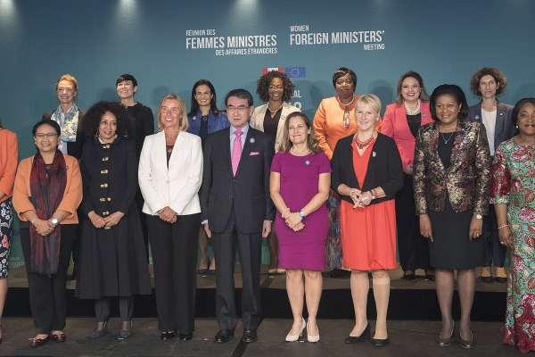 女力時代.史上首次》全球女外長峰會在加拿大舉行「女性主義外交政策」向前邁進!