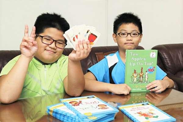 不曾留學、沒補過習,國小兄弟檔竟英文嚇嚇叫!媽媽公開這4招,讓孩子主動學習、愛上英文