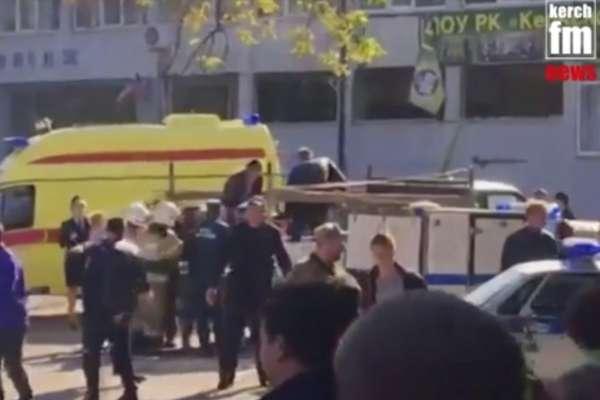 克里米亞校園槍擊血案至少18死 俄羅斯官方:這是一場「大屠殺」18歲學生凶嫌飲彈自盡