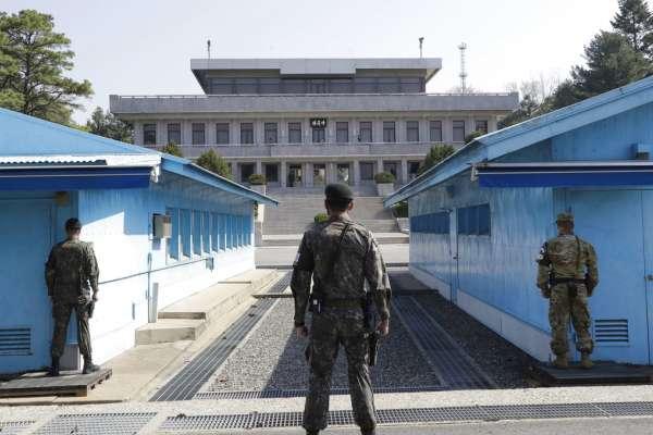 板門店警衛不再配槍!南北韓「共同警備區」下周解除武裝,改派「民事警察」持警棍執勤