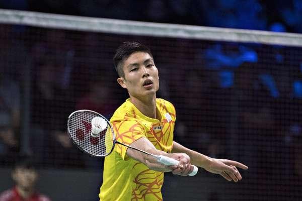 丹麥羽賽》周天成退印尼選手謝薩 直落二晉級八強