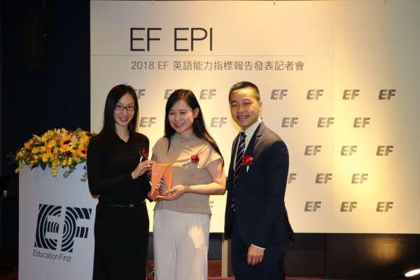 台灣英語能力再退步,EF-EPI 英語能力指標退至全球第 48 名