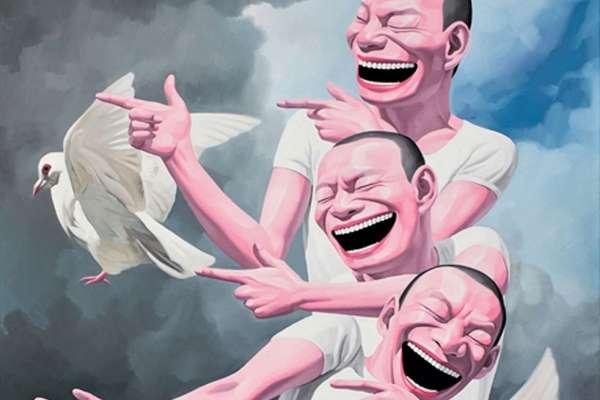 為何這位中國畫家只畫誇張大笑臉?揭作品背後「恐怖社會現況」,難怪愈看愈不舒服…