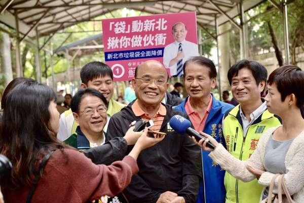 吳敦義「肥滋滋大母豬」批陳菊 蘇貞昌:以選票唾棄這種向下沉淪的政黨