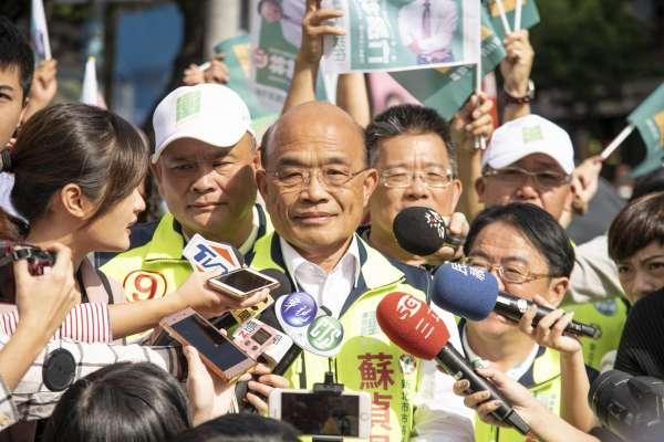 金馬55.統獨爭議》蘇貞昌:金馬獎讓華語圈看到台灣的自由、民主、開放