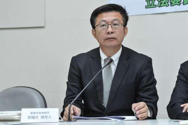 台南立委補選》郭國文選情「確實比較緊張」 民進黨中常會下周移師台南造勢