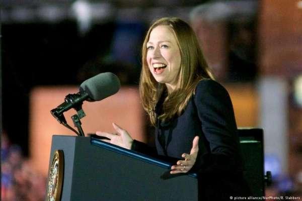 爸爸當過總統、媽媽差一點當總統……柯林頓女兒雀兒喜也考慮競選美國總統!
