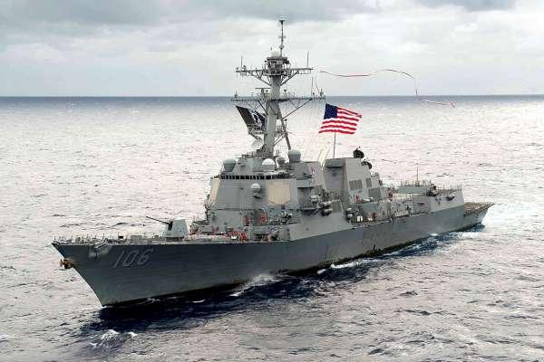 美國軍艦再穿台灣海峽 中國外交部、國防部回應老調重彈