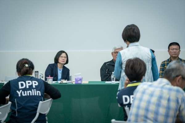 杜宇觀點:總統應面對農漁民,不是黨員!