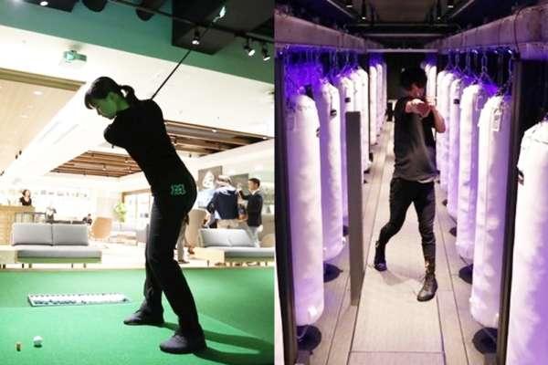 羽田機場新樓層開幕 候機也可體驗拳擊、高爾夫