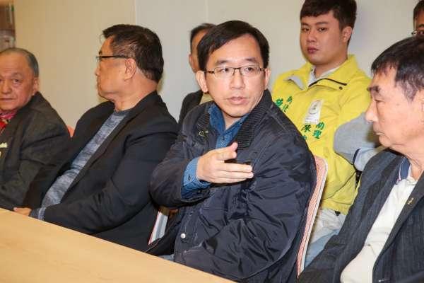 郭國文訪扁尋求支持 陳致中:力挺黨提名者是大是大非的價值