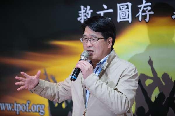 段宜康批他是專扯民進黨後腿的「爛咖」游盈隆將提告:派系老大就可以耀武揚威?