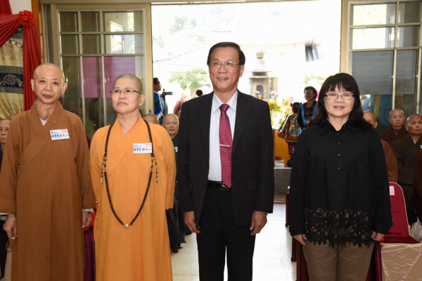 佛教會年終饗宴 林明溱鼓勵長照研習照顧高齡僧眾