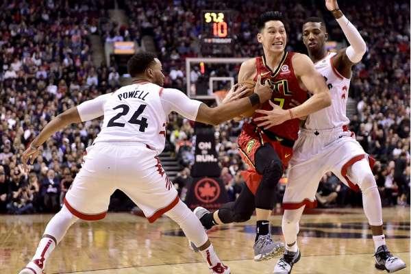 NBA》林書豪本季首先發 老鷹3分差惜敗暴龍