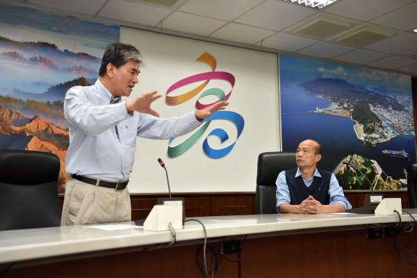 邀李鴻源提供治水意見 韓國瑜盼解決高雄水患