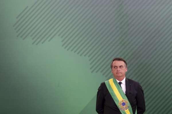 「巴西川普」博索納羅上任兩周 政見頻頻跳票、總統內閣不同調「有如一連串鬧劇」