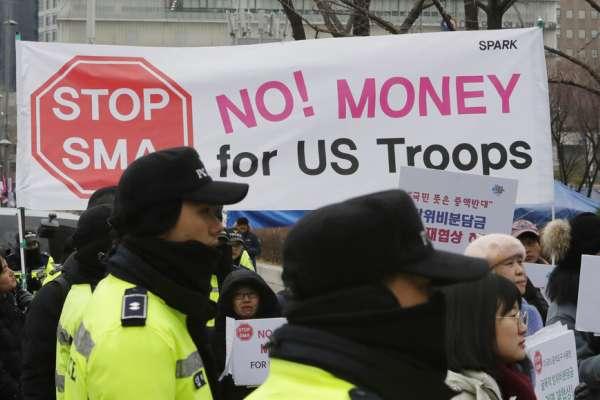 「日韓都應全額負擔駐軍費用!」大話川普確定跳票:南韓僅同意調漲8.2%,但兩國很快又要重談