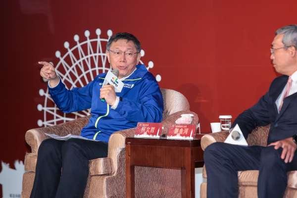 陳佩琪出庭哽咽控被潑糞水 柯文哲:我是不負責任的先生