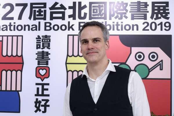 在台北更能看清楚德國的樣子!旅居台灣13年 德國文壇新星施益堅分享創作心法